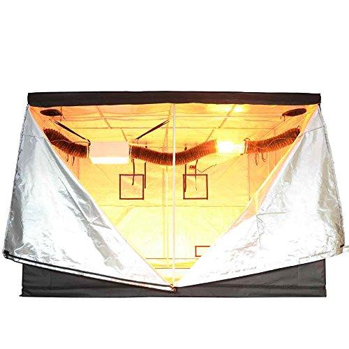 LAGarden 120″ x 120″ x 78″ Reflective Hydroponic Indoor Grow Tent