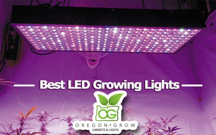 The Best Led Grow Lights For Achieving Maximum Yield 2020 Edition Oregongrowcabinets Com