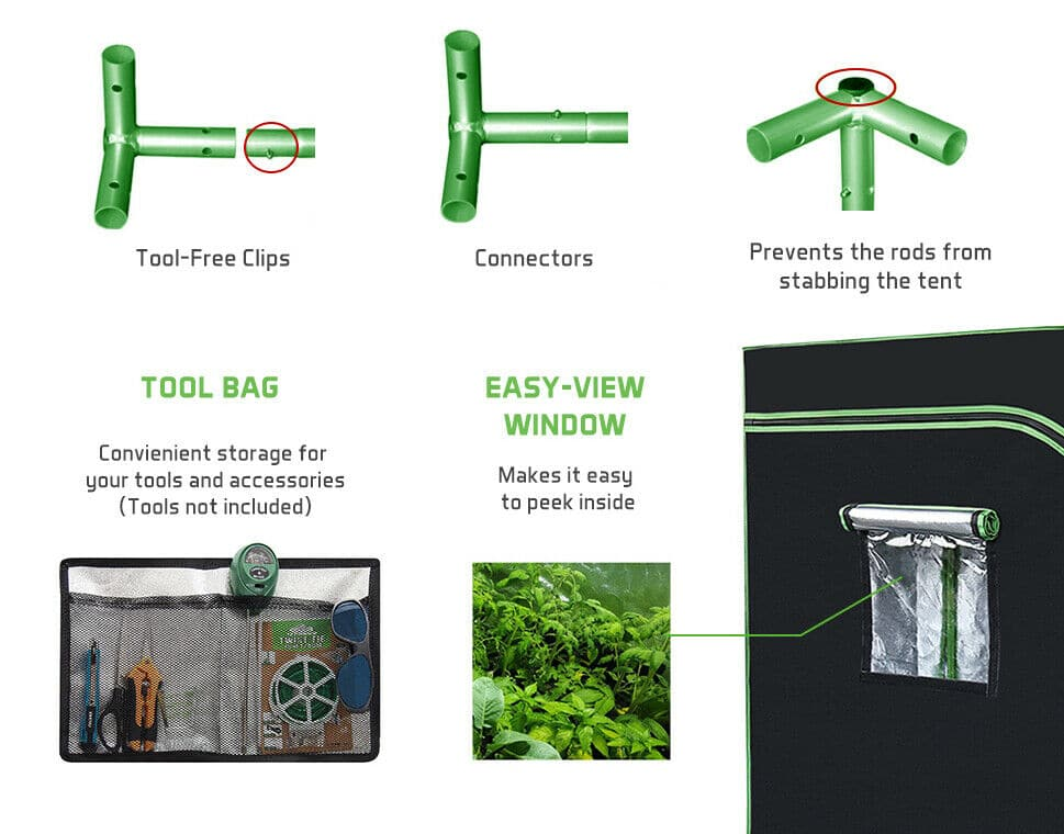 Vivosun Grow Tent Tool Bag