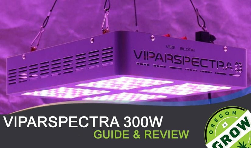 Viparspectra 300w Led Grow Light Review Oregongrowcabinets Com