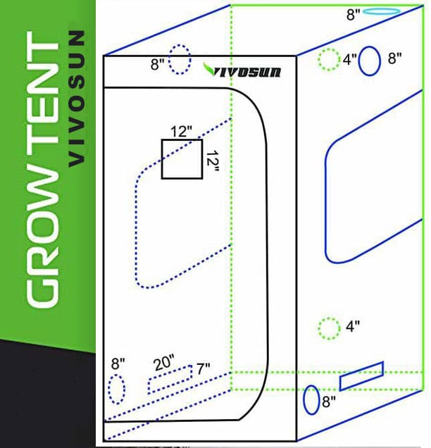 vivosun-growtent-design